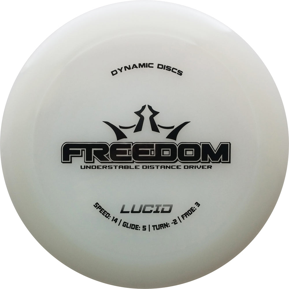 Dynamic Discs Lucid Freedom Disc Golf Distance Driver