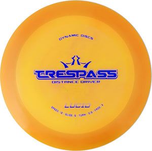 Dynamic Discs Lucid Trespass Disc Golf Distance Driver