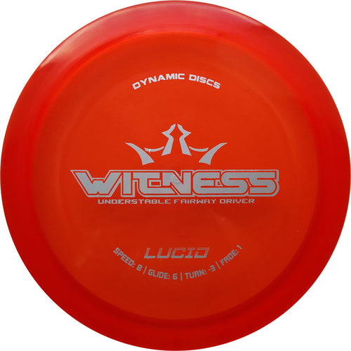 Dynamic Discs Lucid Witness Disc Golf Fairway Driver