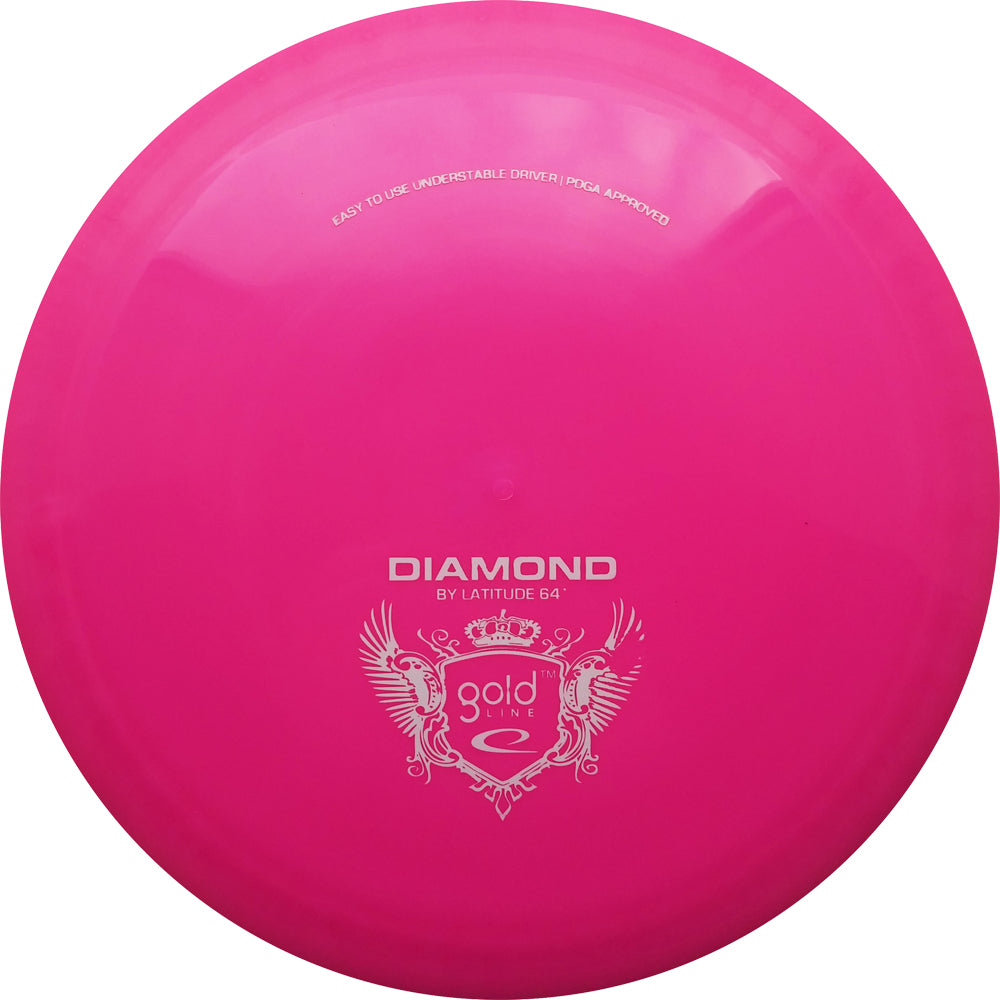 Latitude 64° Gold Diamond Disc Golf Fairway Driver