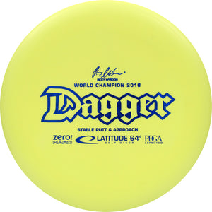 Latitude 64° Zero Hard Dagger Disc Golf Putter