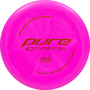 Latitude 64° Zero Hard Pure Disc Golf Putter