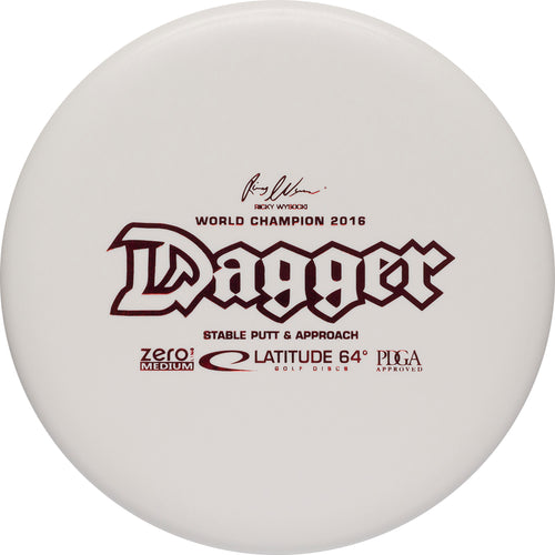 Latitude 64° Zero Medium Dagger Disc Golf Putter