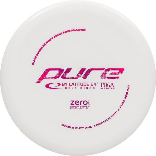 Latitude 64° Zero Soft Pure Disc Golf Putter