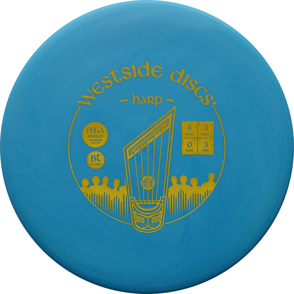 Westside Discs BT Medium Harp Disc Golf Putter
