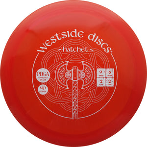 Westside Discs VIP Hatchet Disc Golf Fairway Driver