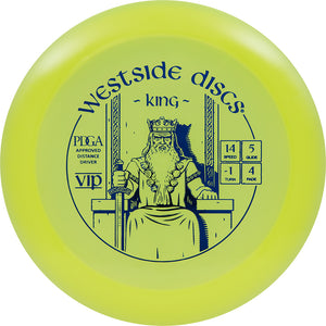 Westside Discs VIP King Disc Golf Distance Driver