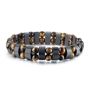 Mind Opening Bracelet - Tiger Eye and Hematite Bracelet - Giveably