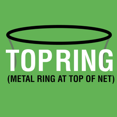 Trampoline Net For Top Ring