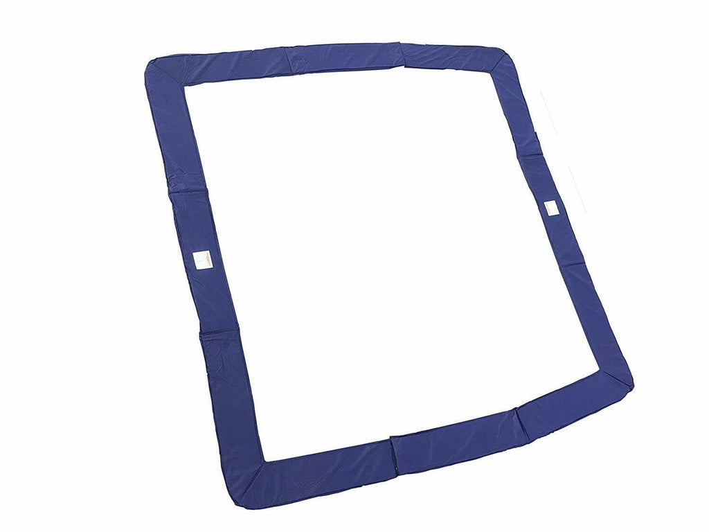 14x14ft SQUARE Trampoline Pad - Blue **PAD ONLY**