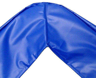 13ftx13ft SQUARE Trampoline Pad — Blue