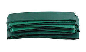 15ft Round Green Safety Pad for Trampoline (8 pole slits)