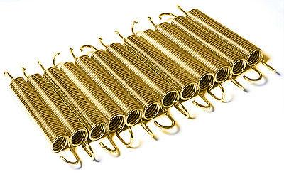 "7.5"" Trampoline Spring 3.5mm - Gold (12 Pack)"