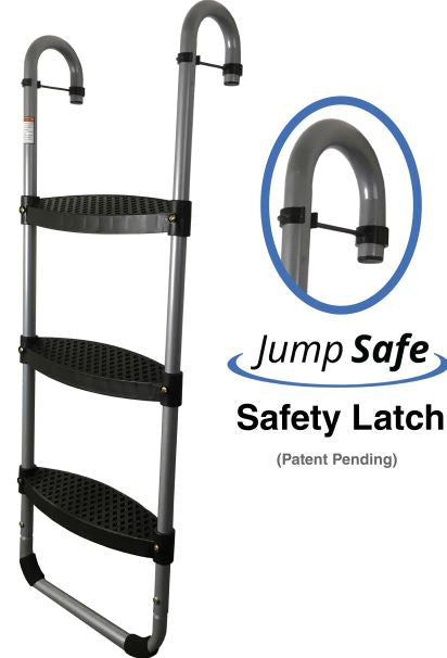 3-Step Safety Ladder + FREE Tech Holder