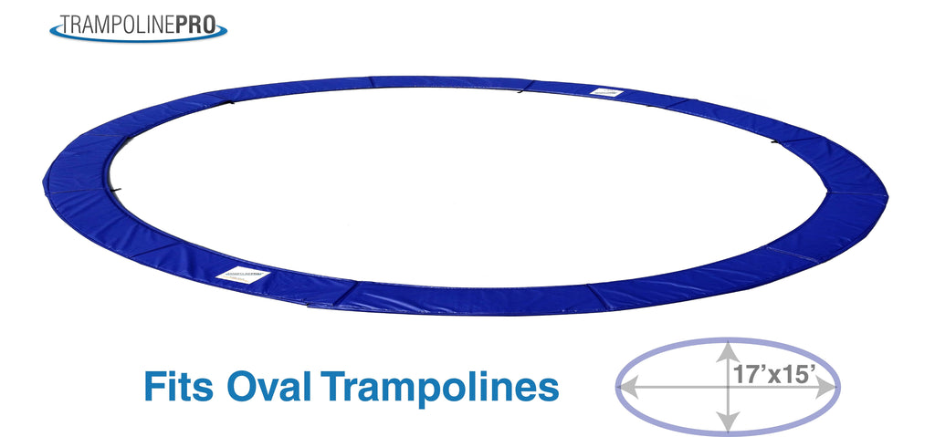 17 ft x 15 ft Oval Trampoline Spring Pad