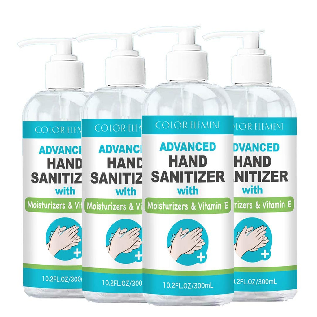 Color Element Antibacterial Hand-Sanitizer with Moisturizers & Vitamin E (10.2 fl. oz. bottles)