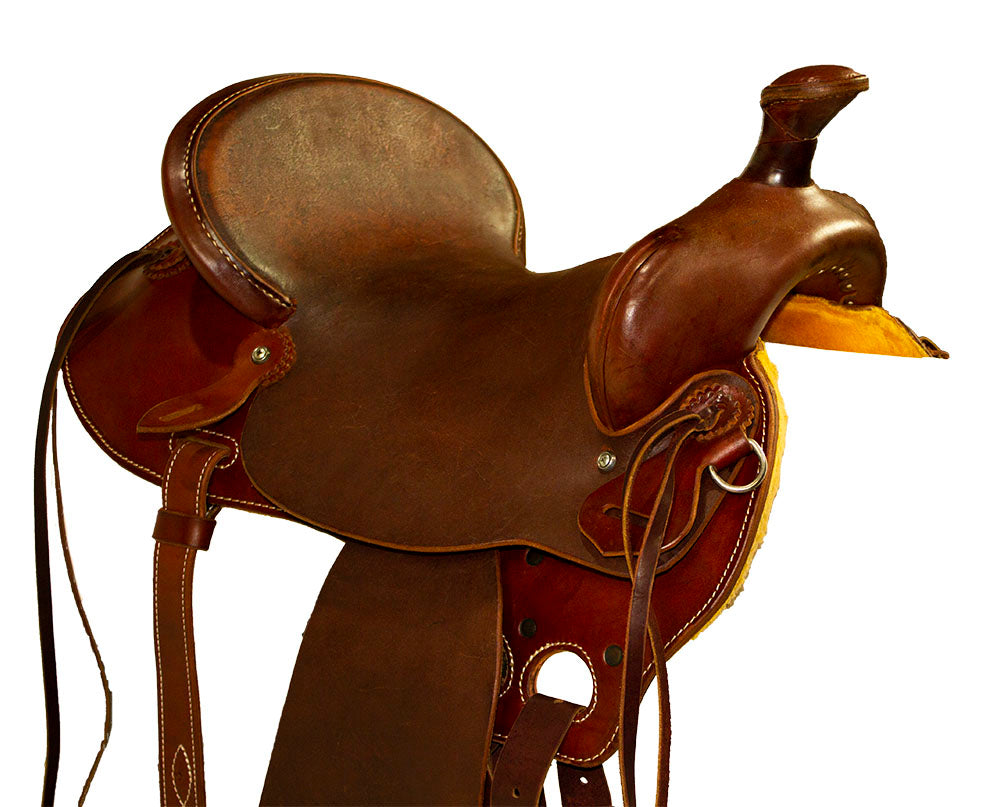 "A1511 Saddle All-Around - 15.5"" Seat"