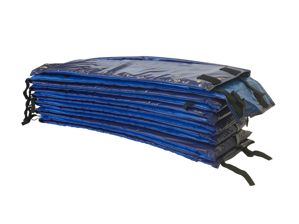 14ft or 15ft Premium Double Thickness Trampoline Spring Pad ROUND - Royal Blue