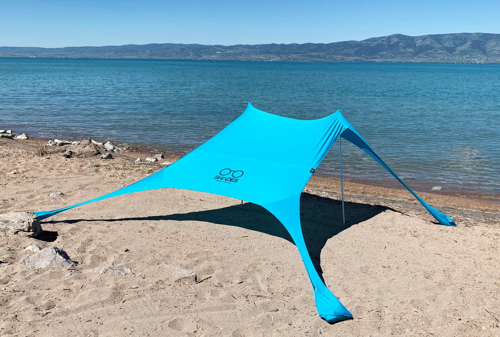 Shades Beach Shelter | Sun Shade (Hawaiian Blue )
