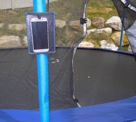 Jump Slider Trampoline Slide + FREE Tech Holder