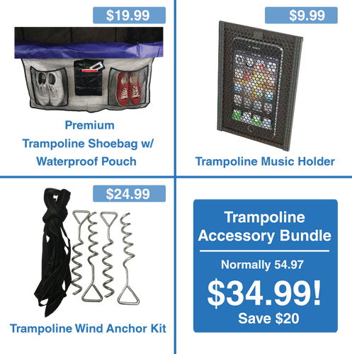 Essential Trampoline Accessory Bundle