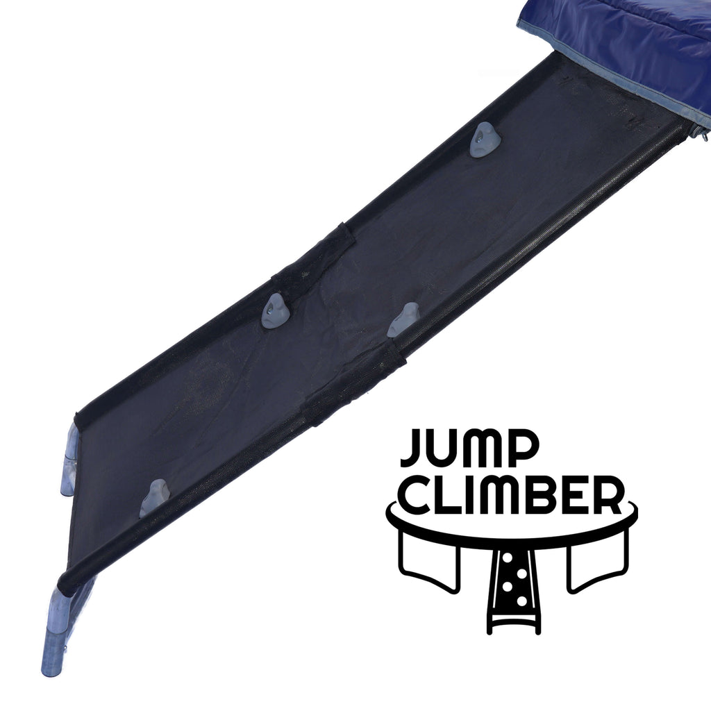 Rock Wall Climber — Trampoline Ladder Alternative | Kid-Friendly Trampoline Access | Better Ladder Replacement | by Trampoline Pro