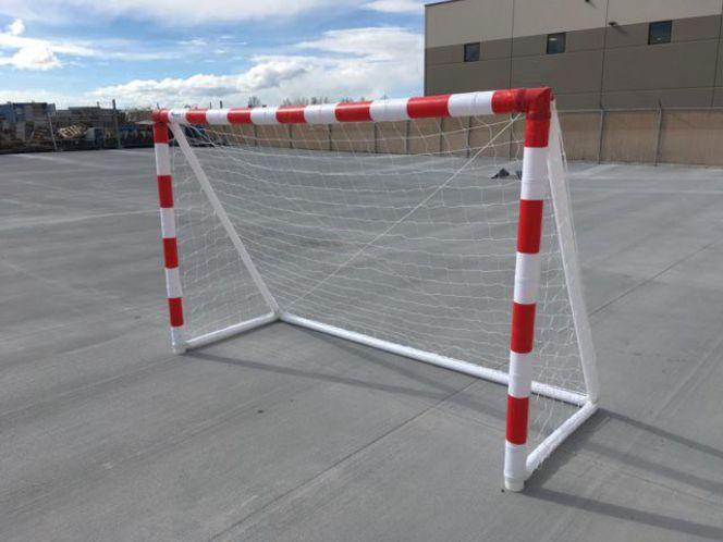 Inflatable Handball Goal 2.5 meter wide by 1.5 meter tall