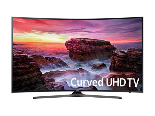 "Samsung 6 Series 65"" Curved LED Smart TV - 4K UltraHD - Black"