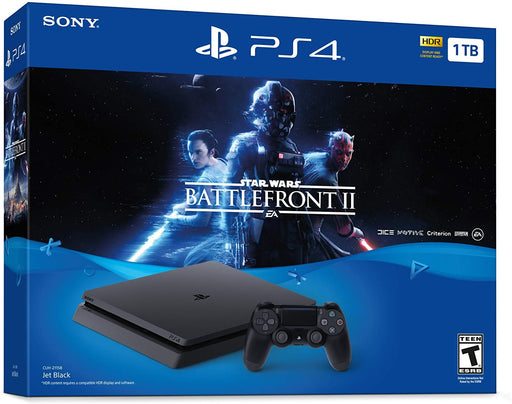 Sony Star Wars Battlefront II PlayStation 4 Bundle (Jet Black)