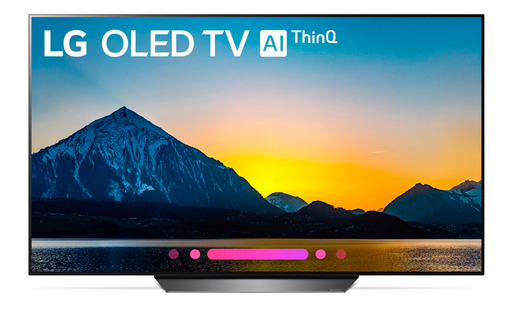 "LG B8PUA Series 65"" 4K HDR Smart OLED TV (2018 Model)"