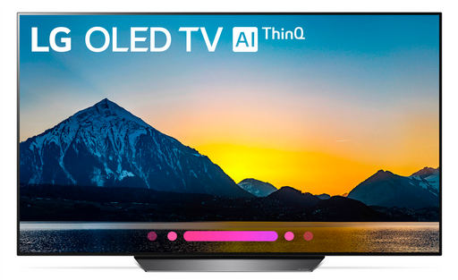 "LG OLED55B8PUA 55""  4K UHD Smart OLED TV (2018 Model)"