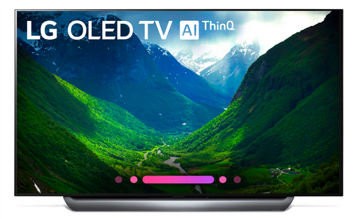 "LG C8PUA Series 55"" 4K Ultra HD Smart OLED TV (2018 Model)"