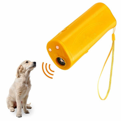 LED Ultrasonic 3 in 1 Anti Barking Ultrasonic Device - Doggie Jewels