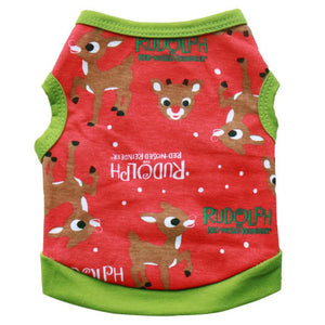 Rudolph Christmas shirt - Doggie Jewels