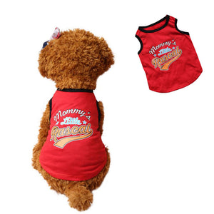 Mommy's Little Rascal/Troublemaker- Dog T-shirt/Vest - Doggie Jewels
