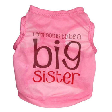 Im going to be a big sister Doggie outfit - Doggie Jewels