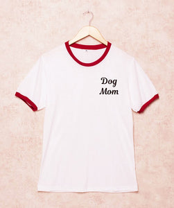Dog Mom T-Shirt - Doggie Jewels