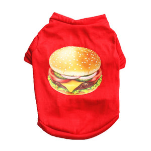 Dog Hamburger t-shirt - Doggie Jewels