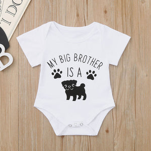 Baby Cartoon Dog Print - Dog Brother - various sizes available - Doggie Jewels