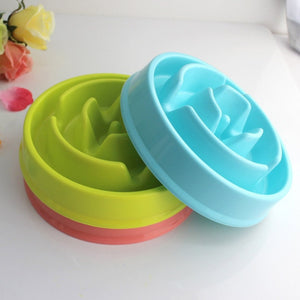 Portable Pet Dog Feeding Food Bowls - Slow Down Eating Feeder - Prevent Obesity - Doggie Jewels