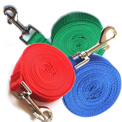 Dog Leash Nylon Leash For Dogs 4 Colors 1.5M 1.8M 3M 6M - Doggie Jewels