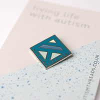 Autism Threads pin badge