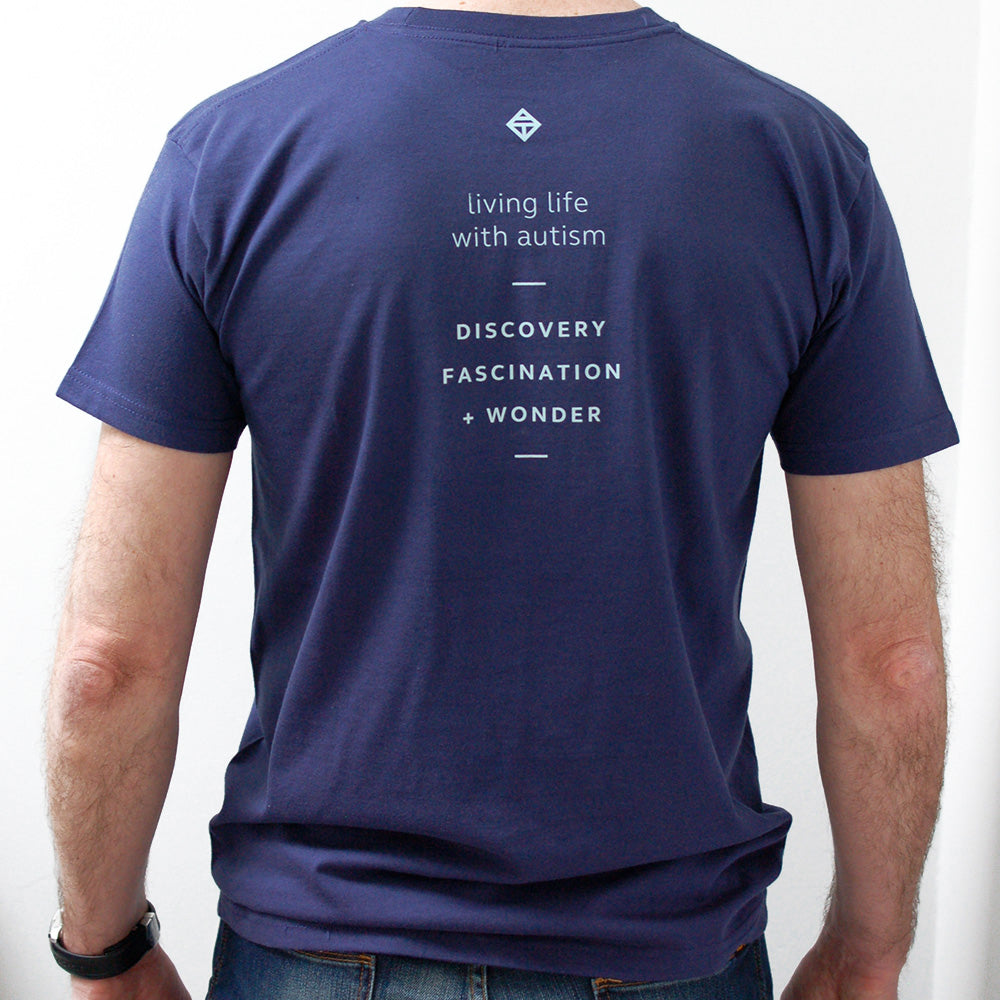 Men's uplifting caption t-shirt