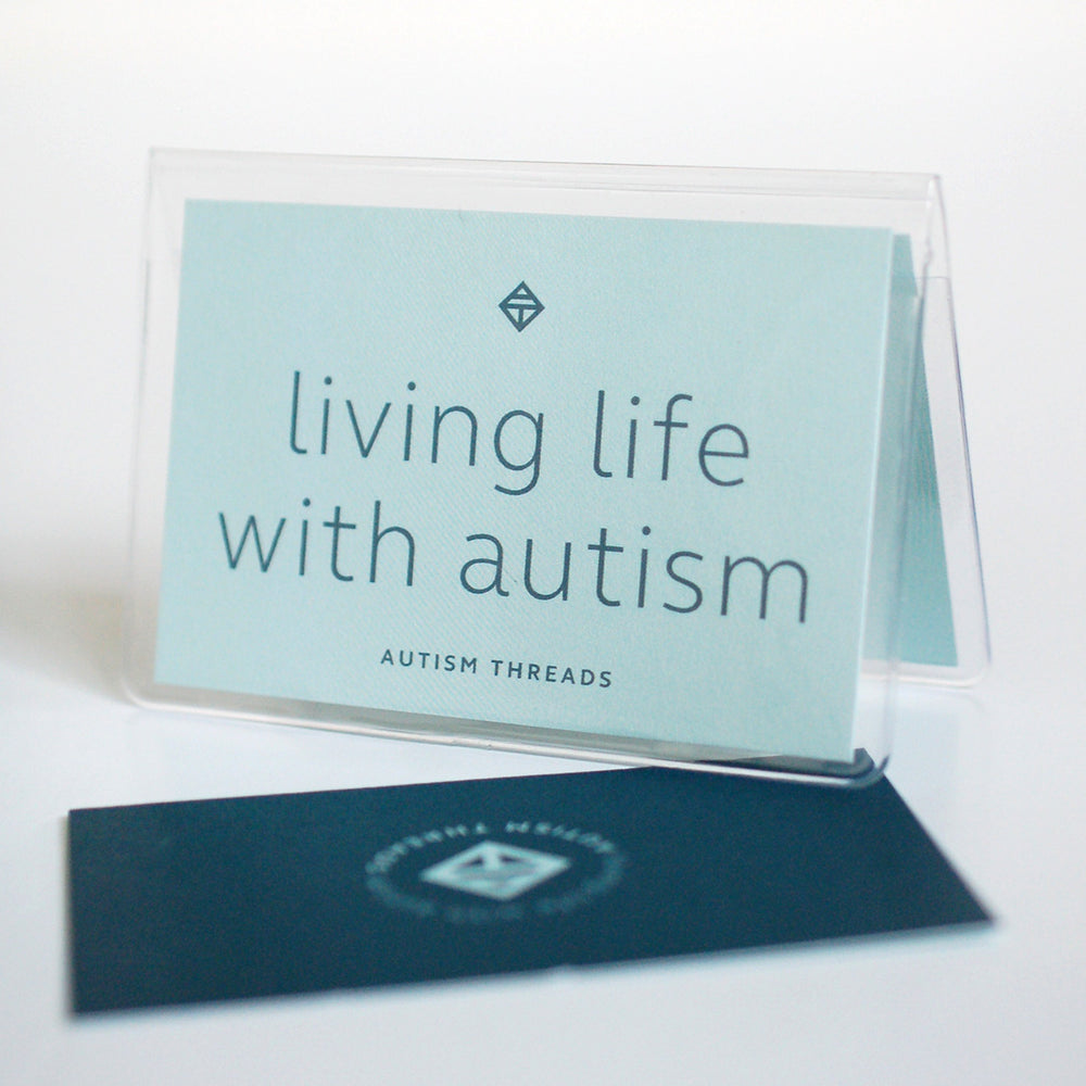 Autism Threads card holder/travel wallet