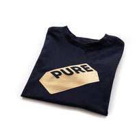 children's PURE navy t-shirt
