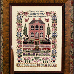 Silkwood Manor by Just Nan with Embellishments and Mini Slide