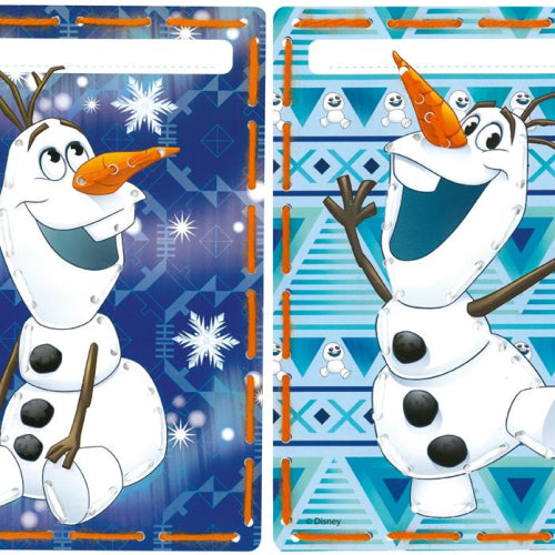 Disney Olaf Embroidery Cards set of 2 by Vervaco