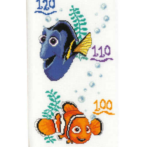 Disney Nemo Growth Chart by Vervaco - PN-0014858