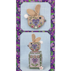 Pansy Bunny Limited Edition Ornament by Just Nan