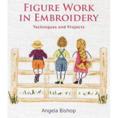 Figure Work in Embroidery by Angela Bishop